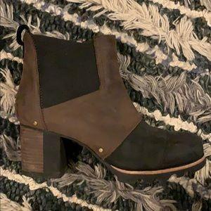 Sorel Addington Waterproof Leather Chelsea Bootie